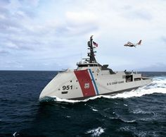 U.S. Coast Guard is considering Ulstein's new X-Bow for it's next generation cutter.: