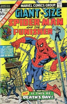 """NEW! Spidey and the Punisher are independently contracted to capture Moses Magnum, the black gunn who kidnapped a powerful woman's daughter. OLD! A pre """"Marvel Team-Up"""" pairing of Spidey and Dr. Strange!"""