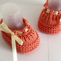 Knitting Pattern PDF file Baby Shoes Beatrice by loasidellamaglia