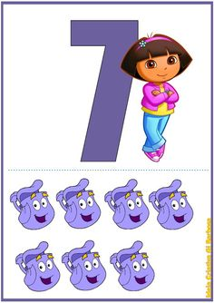 Math 2, Preschool Math, Kindergarten Worksheets, Fun Math, Math Numbers, Letters And Numbers, Lessons For Kids, Math Lessons, Dora Games