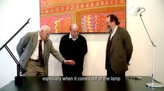 """Very sad news : R.I.P. Richard Sapper. """"You brought such a big change to the Industry of Light!"""" Ernesto Gismondi to this great designer and friend. Discover again this gentle moment on video with 3 formidable designers : Richard Sapper, Michele De Lucchi and Ernesto Gismondi."""