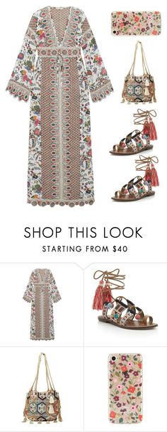 """Untitled #5341"" by im-karla-with-a-k ❤ liked on Polyvore featuring Tory Burch, Sam Edelman, Christophe Sauvat and Kate Spade"