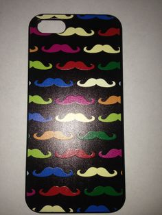Iphone 5, 5s, Cute Mustache Case