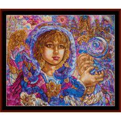Archangel Jeremiel - Yumi Sugai cross stitch pattern by Cross Stitch Collectibles   Crafting   Cross-Stitch   Wall Hangings