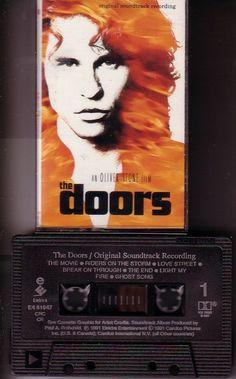 The Doors Movie Soundtrack - Canada - 1991 - Elektra E4 61047