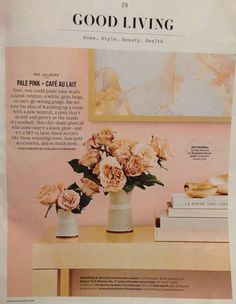 Spring Blossom by Benjamin Moore - Martha Stewart Living January/February 2017