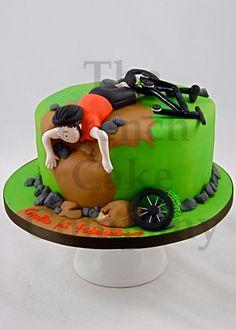 Sporty cake Bike - Gateau D'anniversaire Sport Velo - Verjaardagstaart Sport