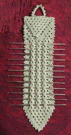 Elegant Crafters Steel Hook Holder » Crochet Memories Blog