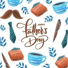 Realistic fathers day concept | Free Vector Happy Fathers Day Images, Fathers Day Photo, Fathers Day Quotes, Family Theme, Cute Family, Mustache Wallpaper, Fathers Day Wallpapers, Superhero Symbols, Fathersday Crafts