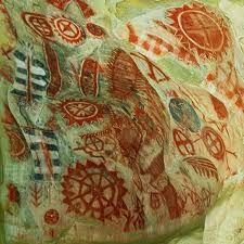 petroglyphs from Chumash tribe natives of Santa Barbara area