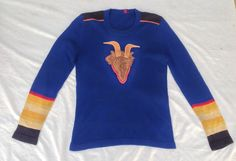 ROLLING STONES - RARE ROCK COLLECTABLE!  1970s Promo Sweater Made for the Band