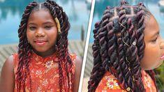 Rope Twist Braids, Jumbo Twists, Cute Girls Hairstyles, Fluffy Hair, Coily Hair, African American Hairstyles, Curly Hair Styles, Paisley, Hair Tutorials