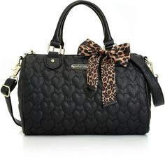Betsy johnson love satchel