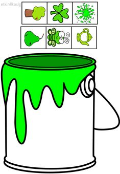 cheznounoucricri - Page 61 Toddler Learning Activities, Color Activities, Kindergarten Activities, Preschool Colors, Teaching Colors, Preschool Classroom, Preschool Crafts, Color Games, Kids Education