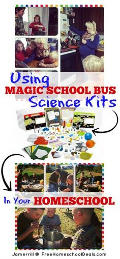 Using Magic School Bus Science Kits in Your Homeschool #sponsored by @educents