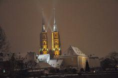 Tower of Cathedral Church on Ostrów Tumski, Wroclaw By http://www.carrentalwroclawairport.com