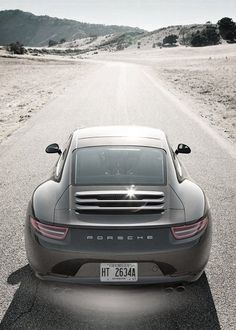 Beautiful Porsche Carrera S.