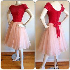 Emma Domb Vintage Pink Dress Barbie Dress by brentedwardvintage, $85.00