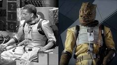 Bossks outfit from Star Wars was actually a recycled space suit from Doctor Who