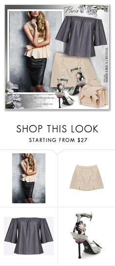 """Yoins353"" by sneky ❤ liked on Polyvore featuring Prada, N°21, yoins, yoinscollection and loveyoins"