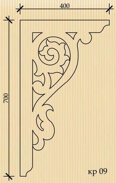 Каталог / Тульский узор Stencil for door or verandah corner trim ? Woodworking Patterns, Woodworking Plans, Woodworking Projects, Wood Crafts, Diy And Crafts, Stencils, Wooden Corbels, Scroll Saw Patterns, Cross Patterns