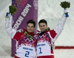 Alex Bilodeau and Mikeal Kingsbury-Gold and Silver