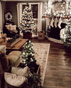 Artificial fir tree as Christmas decoration? An artificial Christmas Tree or even a real one? Lovers of artificial Christmas decorations , such as Christmas tree or artificial Advent wreath know the a Christmas Room, Merry Little Christmas, Noel Christmas, Country Christmas, Winter Christmas, Christmas Ornaments, Farmhouse Christmas Trees, Christmas Days Out, Christmas Tree Picks