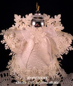 Make an angel craft that is as beautiful as winter itself with the help of this tutorial. Description from pinterest.com. I searched for this on bing.com/images