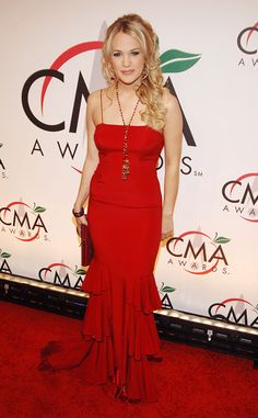 2005 CMA Awards from Everything Carrie Underwood Has Ever Worn at the CMA Awards   E! Online