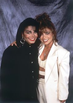 Janet Jackson with her then-choreographer, Paula Abdul Michael Jackson, Janet Jackson 80s, Jo Jackson, Jackson Family, Beautiful Black Women, Beautiful People, Enchanted, Hip Hop And R&b, The Jacksons