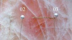 Como fazer os grampos de pérola da Chanel (P.A.P) - How make the Chanel's pearl hairpins (D.I.Y)