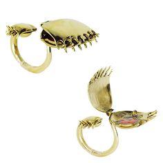 venus flytrap ring!!! by vicky