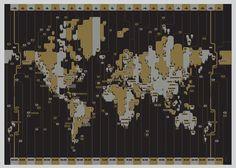 Super cool world map