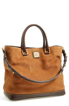 Dooney & Bourke 'Chelsea' Nubuck Leather Tote available at #Nordstrom, Anniversary sale 2014