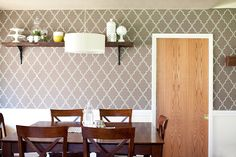 DIY wallpaper that doesn't damage walls