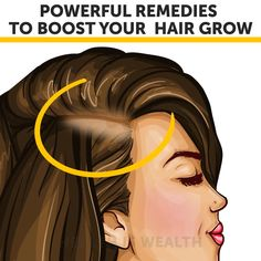 Powerful Remedies To Boost Your Hair Growth is part of Hair remedies for growth - Hair Remedies For Growth, Hair Growth Treatment, Hair Growth Oil, Healthy Hair Remedies, Diy Hair Growth, Hair Mask For Growth, Hair Growth Shampoo, Hair Cure, Beauty Tips For Glowing Skin