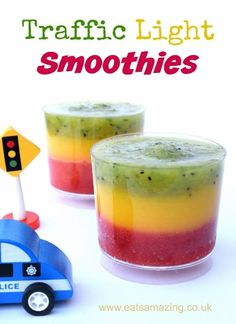 Fruit Smoothies Fun and Healthy Traffic Light Fruit Smoothie Recipe from Eats Amazing UK - great healthy food idea for kidsIdea (disambiguation) An idea is an image existing or formed in the mind. Idea or IDEA or similar may also refer to: Healthy Fruit Smoothies, Smoothie Recipes For Kids, Smoothies For Kids, Breakfast Smoothies, Healthy Fruits, Healthy Drinks, Healthy Recipes, Healthy Food, Fruit Snacks