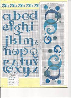 Karilla e o Ponto Cruz: Monogramas, alphabet