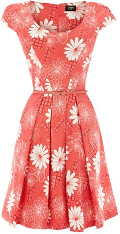 fit and flare dress http://www.lyst.com/clothing/oasis-lori-fit-and-flare-dress-coral-1/ (Lydia)
