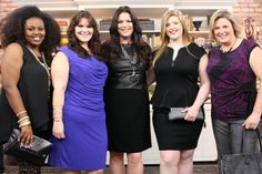 Style Expert Liis Windischmann broke down Curvy Fashion Myths on The Marilyn Denis Show featuring some looks from Toni Plus. Here she is wearing our Lafayette 148 dress and Originals by Andrea necklace and model Meredith is wearing our black peplum dress by ABS. http://www.marilyn.ca/Fashion/segment/Daily/November2013/11_22_2013/CurvyGirlMyth