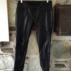 LC Lauren Conrad pleather pants. Sz 8 Item: LC Lauren Conrad pleather pants. Sz 8  ~good condition! LC Lauren Conrad Pants Boot Cut & Flare