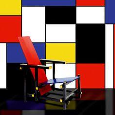 Atípica Utopía. Donde da la vuelta el viento: Piet Mondrian y el Neoplasticismo; la geometría, la pureza y el color