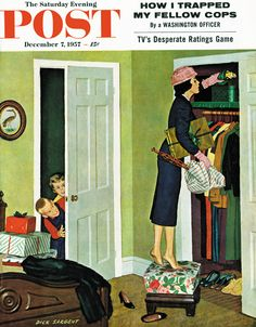 Hiding the Presents by Richard Sergeant, December 7, 1957