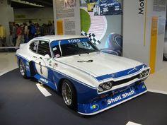 Ford Capri RS 3100. 3,4-liter Cosworth GAA-engine, based