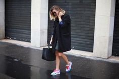 Fall/winter travel wardrobe: #sneakers; #trainers: runners