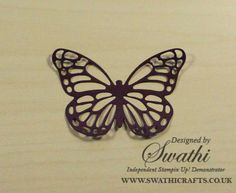 video tutorial: Simple and Inexpensive method to Die Cut Stampin Up Thinlits ... plastic bag ...