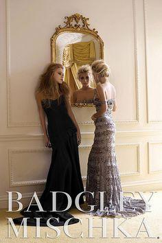 Mary-Kate and Ashley Olsen, Badgley Mischka ad campaign 2006.