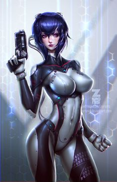 Explore the Anime collection - the favourite images chosen by CrisLevi on DeviantArt. Art Manga, Manga Girl, Anime Manga, Anime Art, Anime Girls, Cyberpunk, Deviant Art, Character Art, Character Design