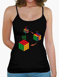camiseta CUBO MÁGICO #cubomagico - diseño exclusivo de FLIP