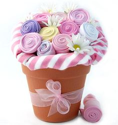 New Baby Blossom Bouquet for Girls